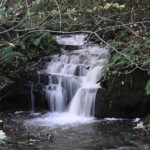 Waterfall in Rhyd y Gaseg