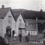 J E Jones, butcher, Pwllglas